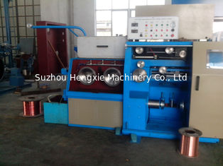 Reliable Customized Wire Drawing Machine , 14DH Copper Wire Making Machine