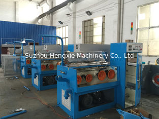 Cast Iron Structure Aluminium Wire Drawing Machine , Safe Fine Wire Drawing Machine