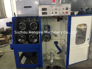 24DS Fine Aluminium Wire Drawing Machine , Magnetic Brake Small Wire Drawing Machine