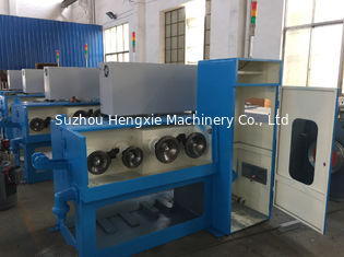 15KW Aluminium Wire Drawing Machine Magnetic Brake Customize Power Source