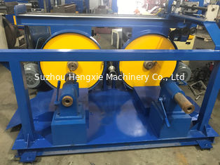 Industrial Wire Take Up Machine With Automatic Bobbin Change Power Source Customized