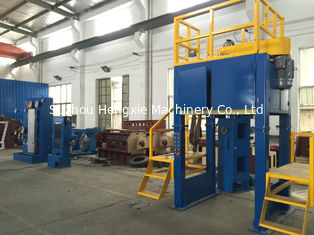 Intermediate Copper Wire Take Up Machine , AC 15KW High Speed Take Up Machine