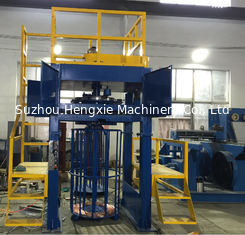 AC 22KW Wire Take Up Machine , 1500mpm Copper Wire Down Coiler Without Shake