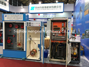 China Blue Customized Wire Drawing Machine 0.8mm-1.6mm Flat Belts Transmission supplier