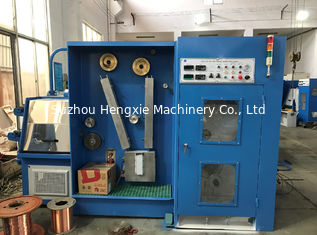 22DT Fine Wire Drawing Equipment For Drawing And Annealing Single Bare Copper Wire