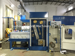 AC 3 Phase Customized Wire Drawing Machine , 0.8mm-1.6mm Small Wire Drawing Machine