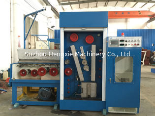 Copper Customized Wire Drawing Machine , Horizontal Wire Drawing Machine With Annealer