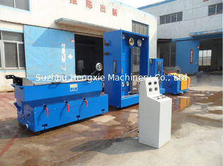 17 Dies PID Synchronous Control Intermediate Copper Wire Drawing Machine And Annealer