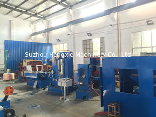 Customized Power Source Drum Copper Wire Drawing Machine 17DST With Double Spoolers