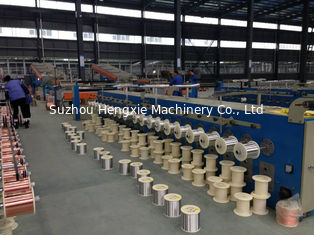 China Single Bare Copper Wire Annealing Machine 300mpm Low Power Consumption supplier