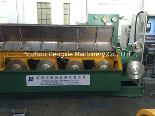 China 9D Copper Rod Breakdown Machine , Green Large Drawing Machine With Annealing supplier