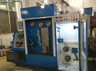 China Blue High Durability Pulley Wire Drawing Machine For Copper Drawing And Annealing company